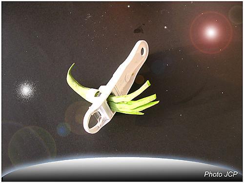 Bean slicer en orbite