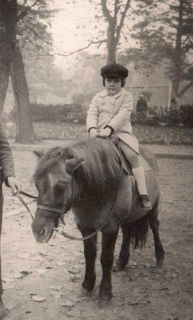 Daniel a cheval 5 ans