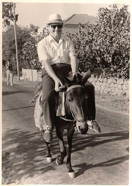 Daniel a cheval Patmos
