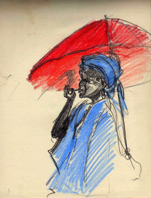 Tableau parapluie