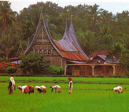 Sumatra village