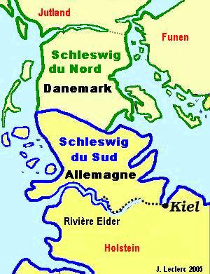 Schleswig-karte