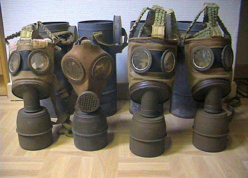 Masques - gaz
