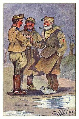 Soldats belges