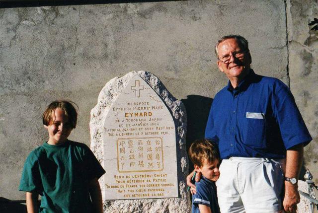 Tombe Cyprien Dan et fils