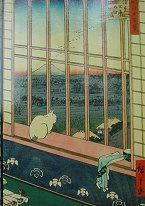 Chats Hiroshige