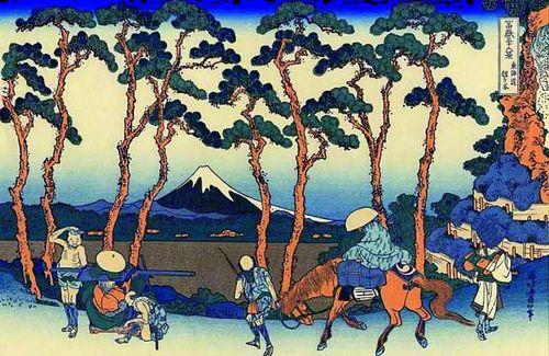 Hokusai-pins-Fuji
