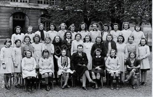 Photo-de-classe-1943-LYCEE+jeanne+d'Arc
