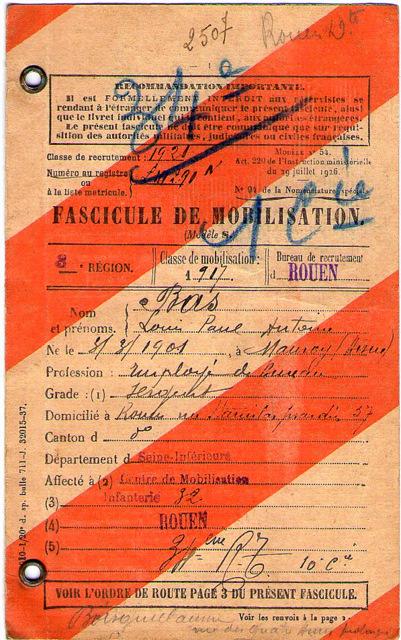 Papa Fascicule de mobilisaton001