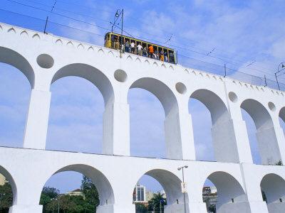 Rio bondinho sur aqueduc