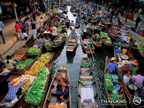 Floating market-1