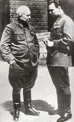 Khruschev and Brezhnev