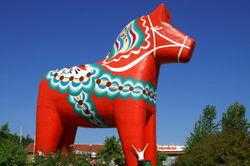Su-de petit cheval rouge