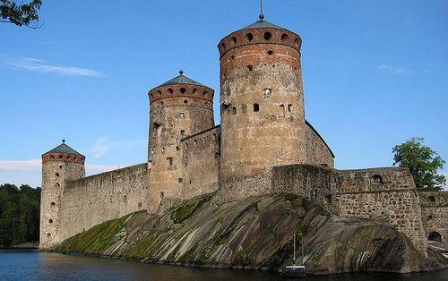 Savonlinna chateau
