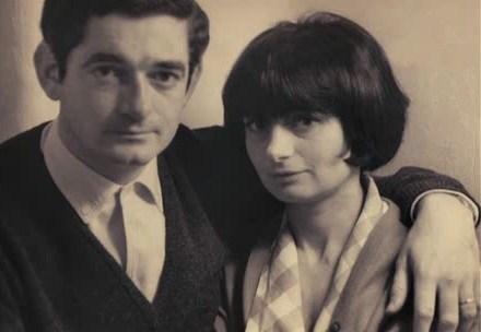 Jacques Demy et sa femme Agnes