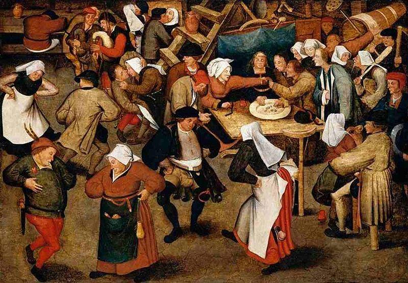 Brueghel_wedding_dance_in_a_barn