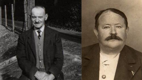 Alfred et le grand-père