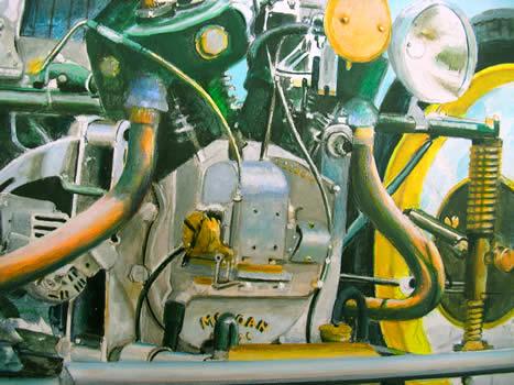 Gros plan moteur