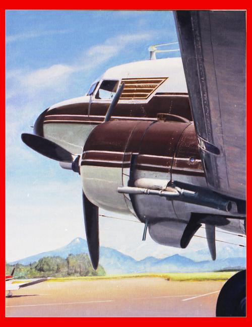 Douglas DC-3 à l'heure de la sieste