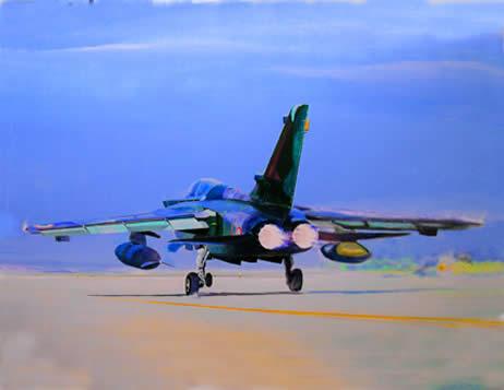 Tornado au décollage